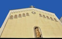 St Mary della chiesa di tolleranze o della chiesa di Baratia a Bucarest, Romania Fotografia Stock Libera da Diritti
