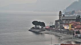 St Mary della riva di Como del lago Fotografie Stock Libere da Diritti
