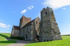 St Mary in Dover Castle, het Verenigd Koninkrijk royalty-vrije stock afbeelding