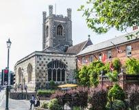 St Mary Dziewiczy kościół, Henley Obraz Royalty Free