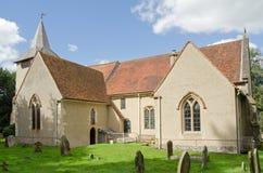 St Mary Dziewiczy kościół, Aldermaston, Berkshire Obraz Royalty Free