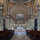 St Mary em Saint Satiro foto de stock royalty free