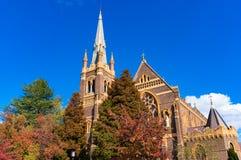 St Mary et cathédrale de St Josephs dans Armidale, Australie photographie stock