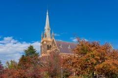 St Mary et St Joseph Cathedral dans la ville australienne Armidale photo libre de droits
