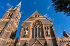 St Mary et St Joseph Cathedral dans la ville australienne Armidale photos libres de droits