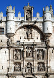St. Mary gate in  Burgos. St. Mary gate in Burgos in the northern Spain Royalty Free Stock Photos