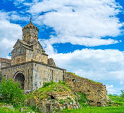 The St Mary Gate Church of Tatev Monastery Stock Images
