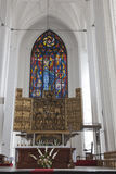 St. Mary, Gdansk royalty free stock photography