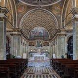 St Mary i helgonet Satiro royaltyfri foto
