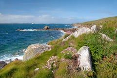 St Mary, isole di Scilly fotografia stock libera da diritti