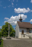 St Mary Kapel, Rapperswil Stock Foto