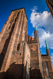 St Mary Kathedraal in oude stad van Gdansk, Polen Royalty-vrije Stock Afbeelding