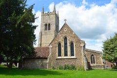 St Mary Kerk Eynesbury St Neots Royalty-vrije Stock Afbeeldingen
