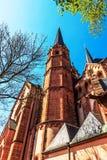 St. Mary kerk in Gelnhausen, Duitsland. Royalty-vrije Stock Afbeelding