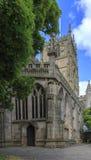 St Mary Kerk Nottingham Stock Foto's