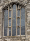 St Mary Kerkvenster, Windsor, Ontario Royalty-vrije Stock Foto