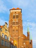 St Mary Kirche in Gdansk Lizenzfreie Stockbilder