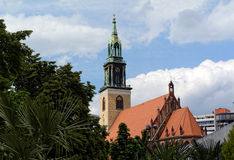 St Mary Kirche (Marienkirche), Berlin, Deutschland stockfotografie