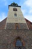 St Mary Kirche (Marienkirche), Berlin, Deutschland - Glockenturm Stockbild