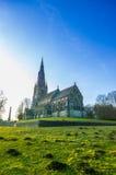 St Mary kościół przy Ripon, UK Fotografia Royalty Free