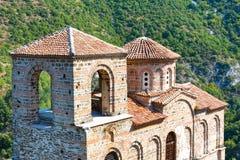 St Mary kyrka på fästningen för Asen ` s Arkivfoton