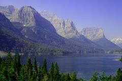 St. Mary Lake Royalty Free Stock Photos