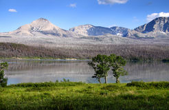 St Mary lake Royalty Free Stock Photography