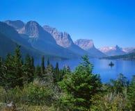 St Mary Lake stock photos