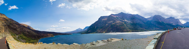 St Mary Lake Stock Photography