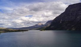 St. Mary Lake, Summer royalty free stock photography