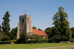St Mary in Latton, Harlow, Essex, Engeland Royalty-vrije Stock Afbeelding