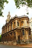 St Mary le Strand Church Central London England Royalty Free Stock Image