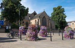 St mary Magdalen church at Hucknall Stock Photo