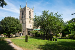 St Mary Magdalen church at Hucknall Stock Images