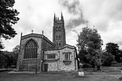 St Mary Magdalene Church in Taunton. Taunton, Somerset, England UK - JULY 7th 2015 - Showing St Mary Magdalene Church in the center of Taunton city centre stock image