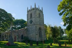St Mary Magdalene Church. Whitgift. East Riding of Yorkshire. The Church of Mary Magdalene on the Whitgift side of the border between Whitgift and Reedness dates stock images