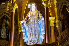 St Mary o vergine Maria benedetto in Roman Catholic Maep Immagini Stock Libere da Diritti