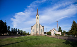 St. Mary Parish, Mt. Engel, OF, de V.S. Stock Foto