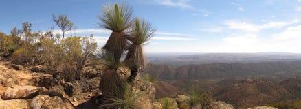 St Mary Peak, chaînes de Flinders, Australie du sud image libre de droits