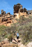St Mary Peak, Flinders ranges, south australia Stock Photography