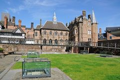 St Mary Priory Garden, Coventry. Stock Images
