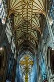St Mary Redcliffe Bristol, église anglaise d'architecture gothique, C Images libres de droits
