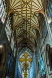 St Mary Redcliffe Bristol, English Gothic architecture church, C. ENGLAND, BRISTOL - 20 APRIL 2015: St Mary Redcliffe Bristol, English Gothic architecture church Royalty Free Stock Images