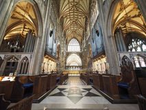St Mary Redcliffe em Bristol Foto de Stock