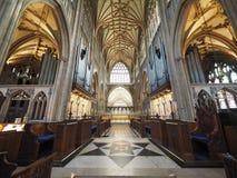 St Mary Redcliffe i Bristol Arkivfoto