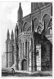 St Mary Redcliffe—South Porch Royalty Free Stock Images