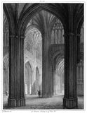 St Mary Redcliffe—South Transept Stock Image
