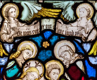 St Mary Redcliffe Stained Glass Close Up G Stock Images