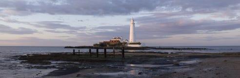 st mary s маяка Стоковое фото RF