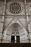 st Сидней mary s собора Австралии Стоковое Изображение